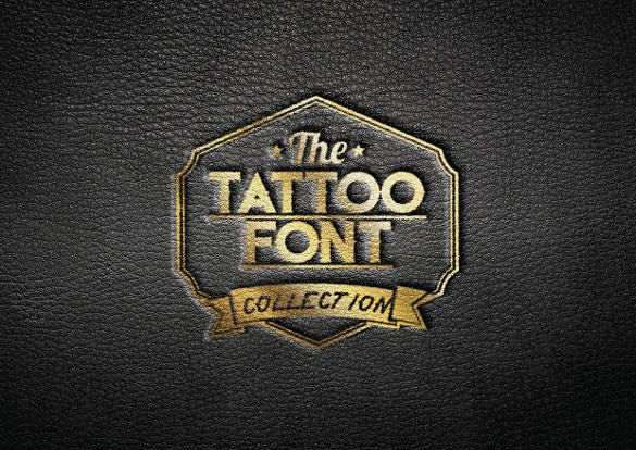 tattoo font collection download