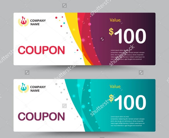Birthday coupons 23 free psd ai vector eps format for Create a coupon template free