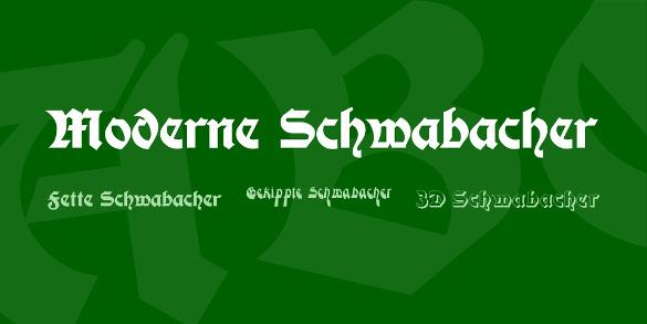 moderne schwabacher font download