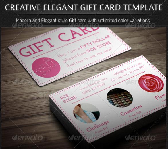 creative elegant birthday coupon template