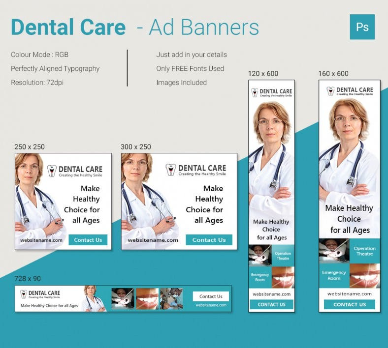 DentalCare_Ad_Banners