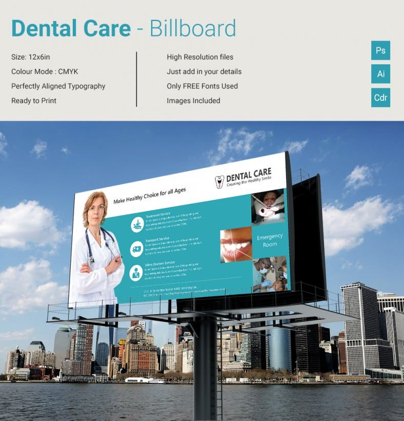 DentalCare_Billboard