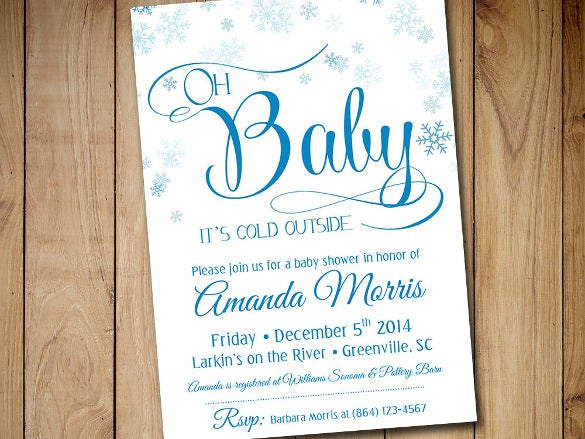 baby shower invitation template   free psd, vector eps, ai, Baby shower