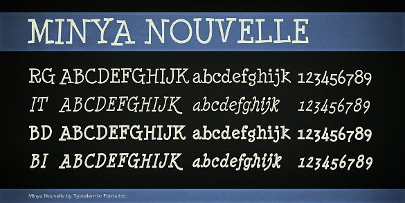 minya nouvelle writing font download1