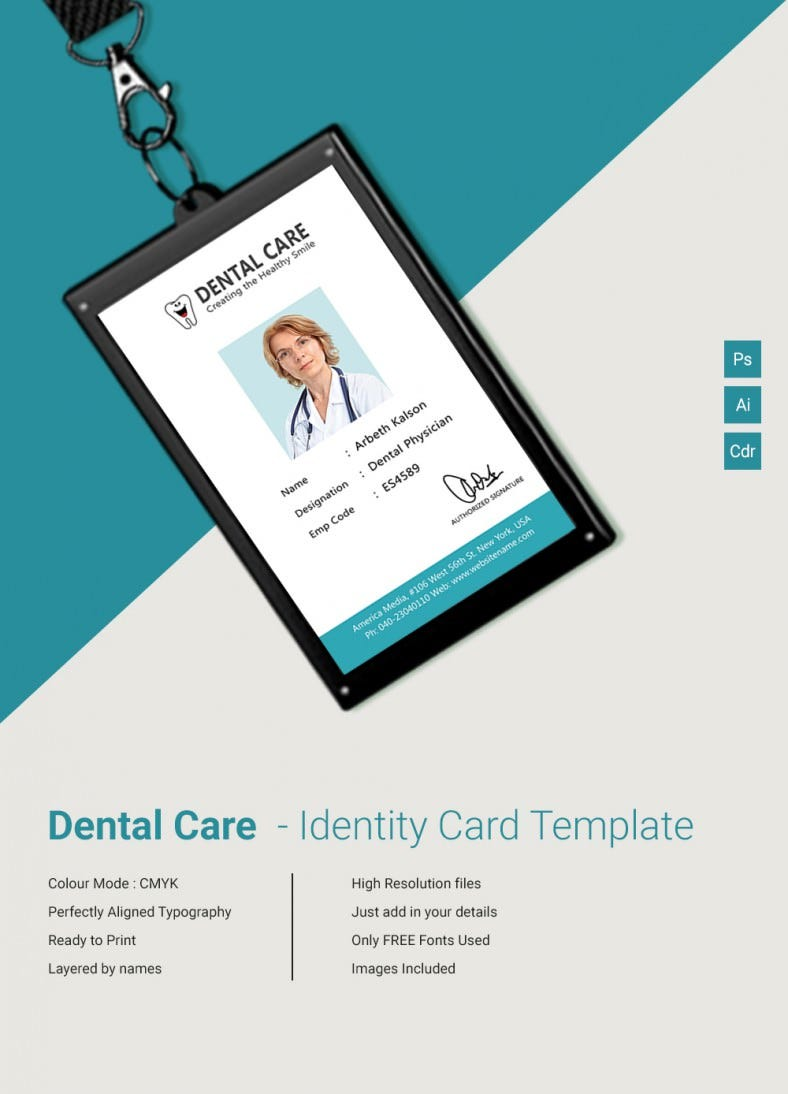 DentalCare_Indentitycard