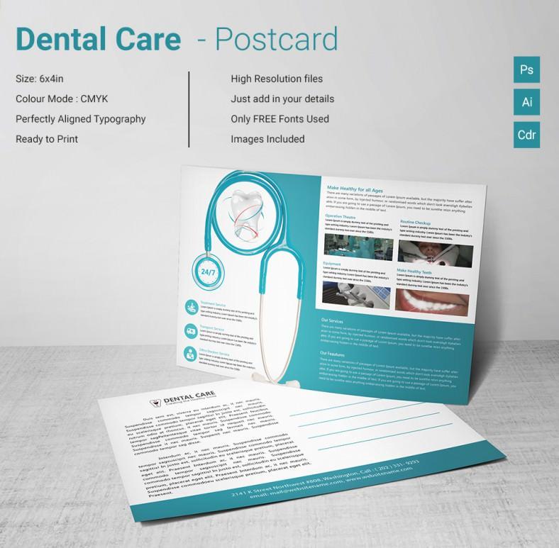 DentalCare_Postcard