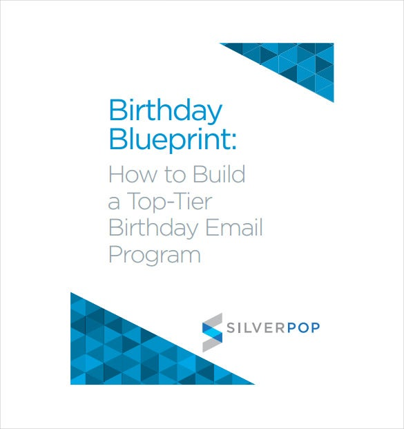 birthday program email template pdf format free download