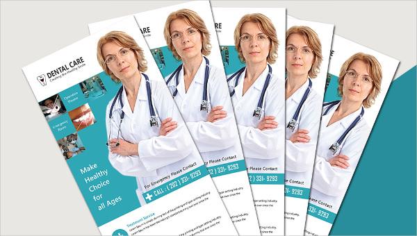 dentalcare_rackcard template