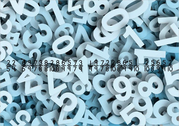 kg traditional fractions numbers font download