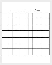 Blank Survey Template Free PDF Download