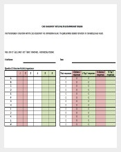 Club Assessment Tool Survey Results Worksheet Excel Template