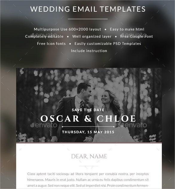 Email Invitation Templates – 26+ Free PSD, Vector EPS, AI, Format ...