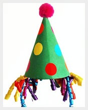 Children Happy Birthday Party Hat free