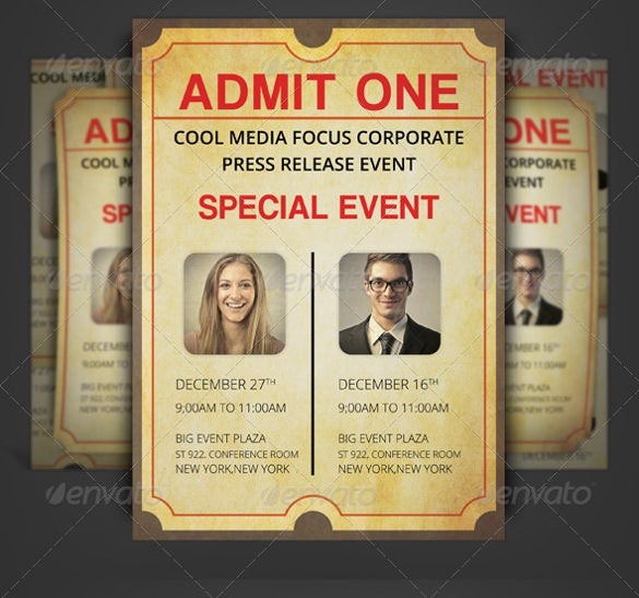 ticket invitation template 54 free psd vector eps ai format