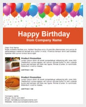 Company Birthday Email Template HTML Format free