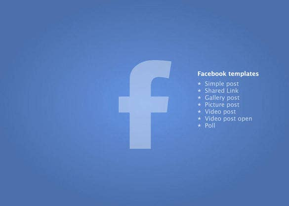 facebook template – 49+ free word, pdf, psd, ppt format download, Modern powerpoint