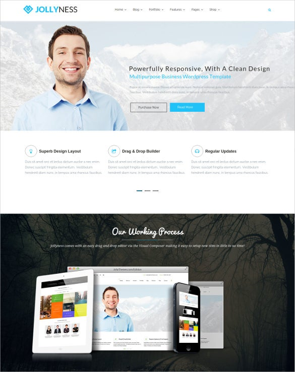 corporate multi purpose wordpress php website theme