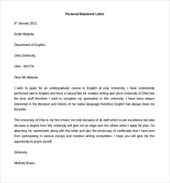 Statement Letter. Salary Statement Letter Sample | It Resume Cover