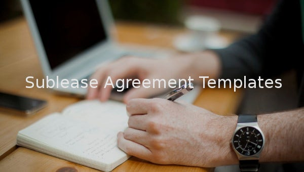 sublease agreement1