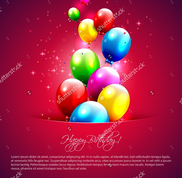 21 Birthday Card Templates Free Sample Example Format – Birthday Card Sample