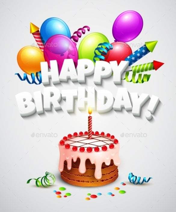 Birthday Card Templates  Free Sample Example Format Download