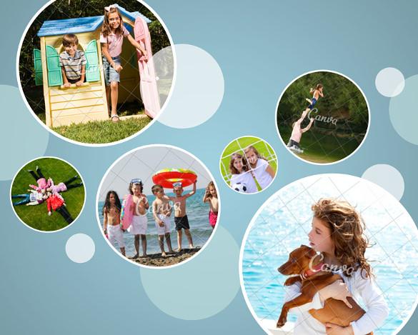 35  photo collage templates  u2013 free psd  vector eps  ai