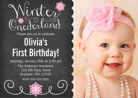 unique birthday invitation template download