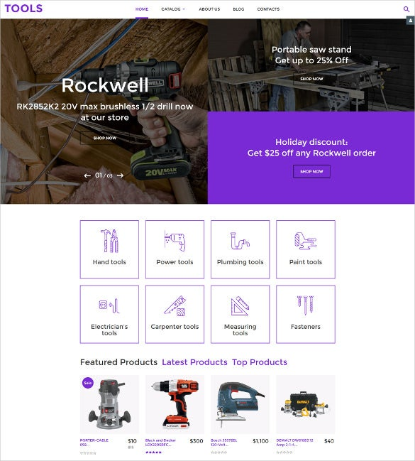 elegant tools virtuemart template