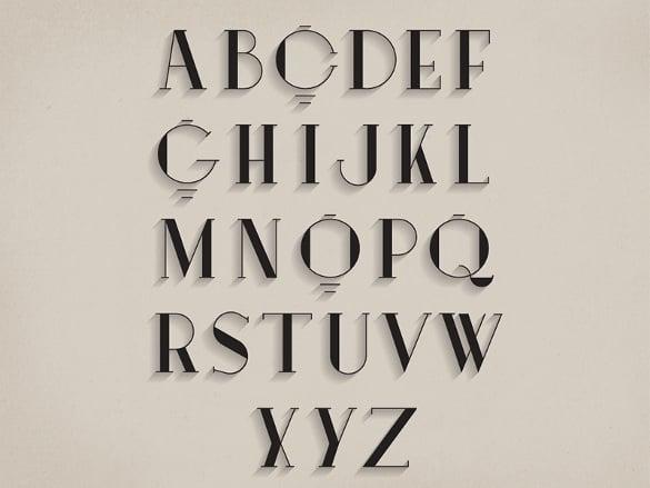 19+ Alphabet Upper Case Letter Templates - Free PSD, EPS, Format ...