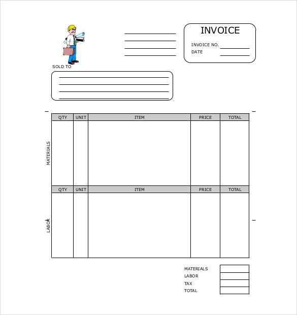 Invoice Format Template 50 Free Word Pdf Documents Download