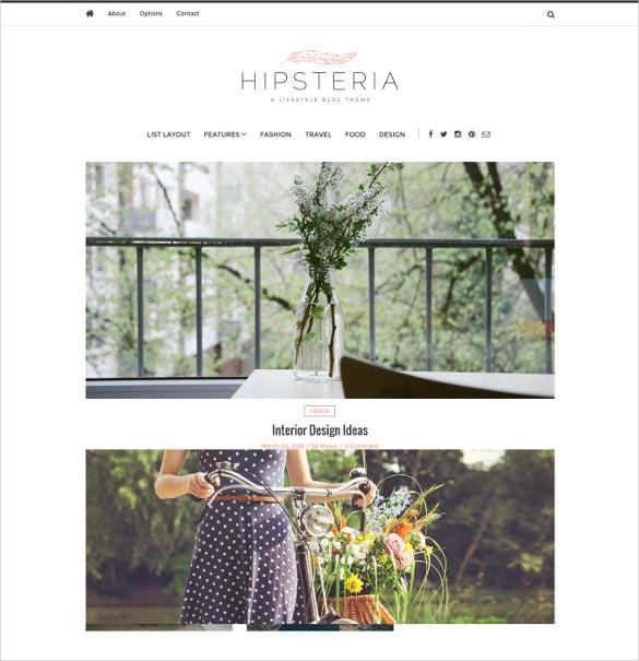 fashion lifestyle photography wordpress blog theme