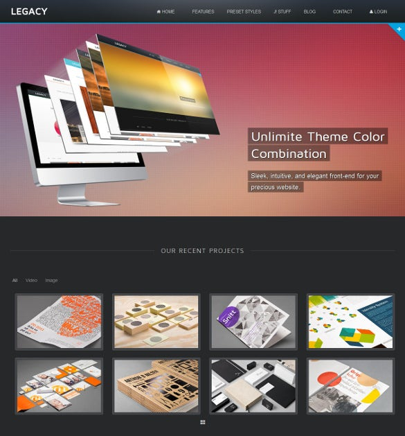 creative premium responsive joomla theme