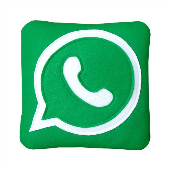 whatsapp pillow template
