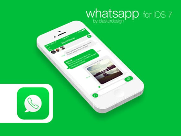 watsapp for ios 7