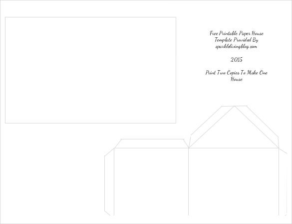 Paper House Template – 19+ Free Pdf Documents Download | Free