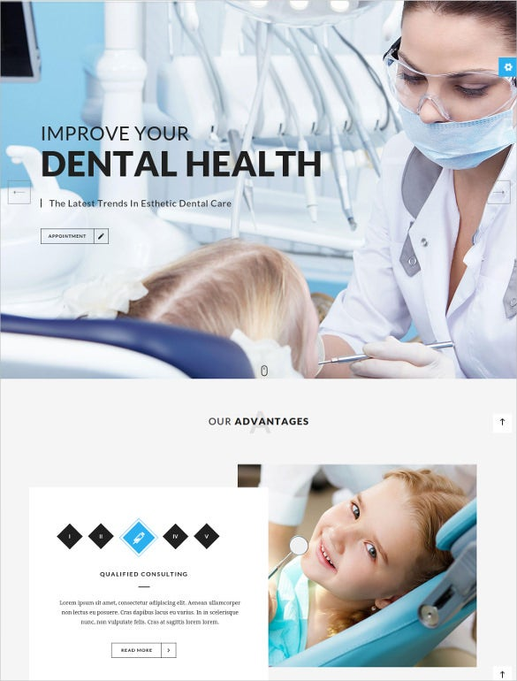 medicare – dentist medical html5 template