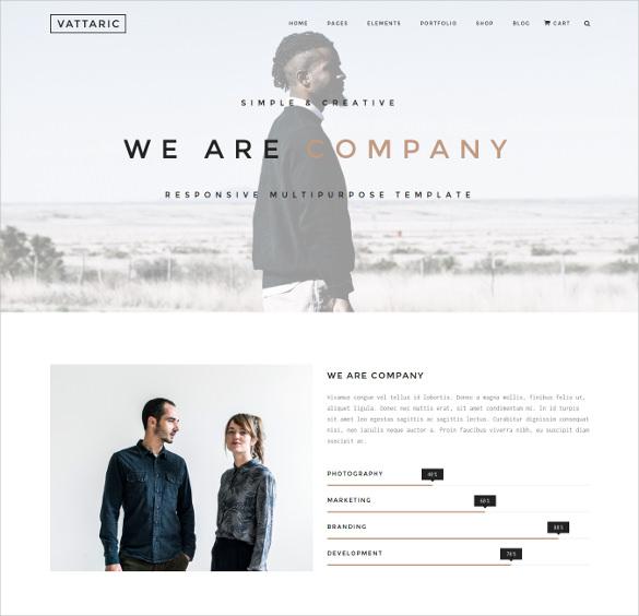vattaric multipurpose responsive html5 drupal theme