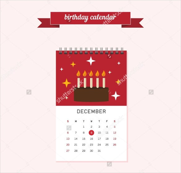 21+ Birthday Calendar Templates - Free Sample, Example, Format