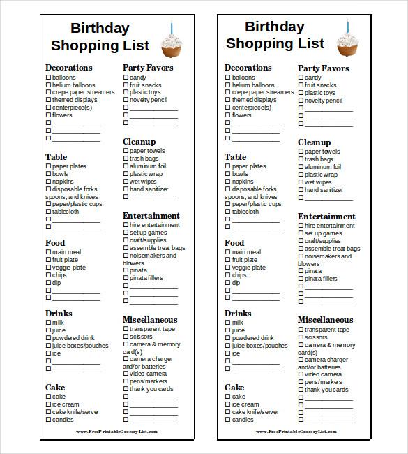Ziemlich Grocery List Wort Zeitgenössisch - Bilder für das ...