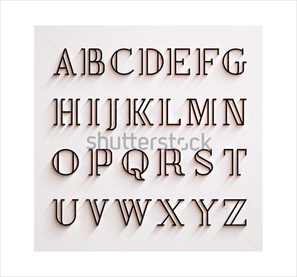 Image gallery stylish alphabets