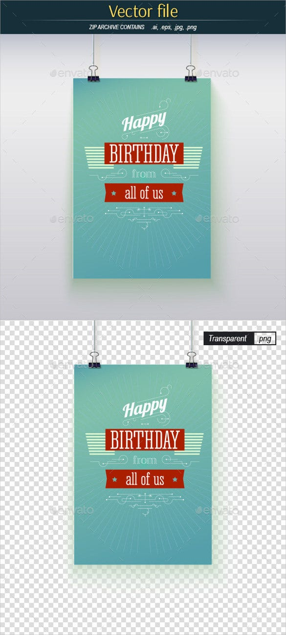 sample poster templates