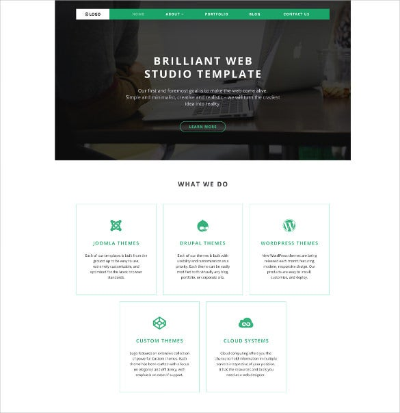 logo wordpress blog theme
