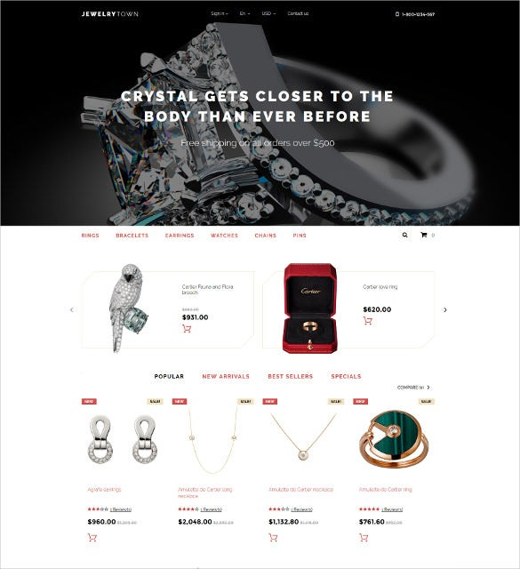 jewelry town prestashop blog theme