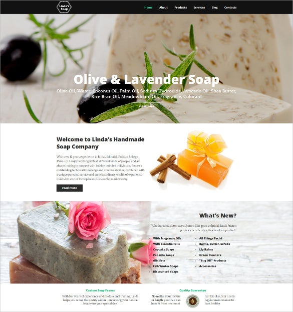 crafts responsive moto cms 3 blog template