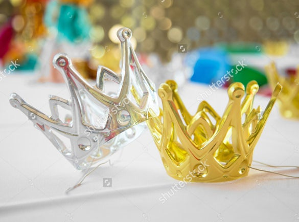 kingqueen birthday crown templates