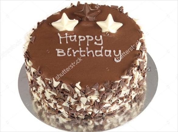 elegant birthday cake template1