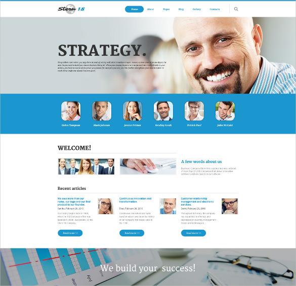business responsive joomla template2
