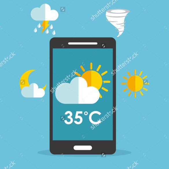 online weather app design download