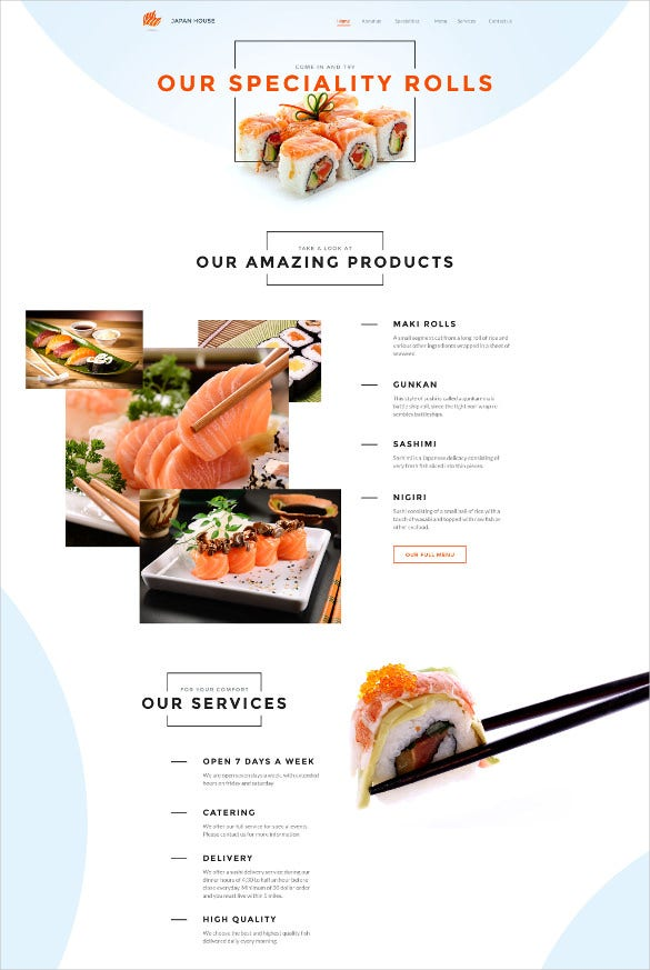 responsive fullscreen website template