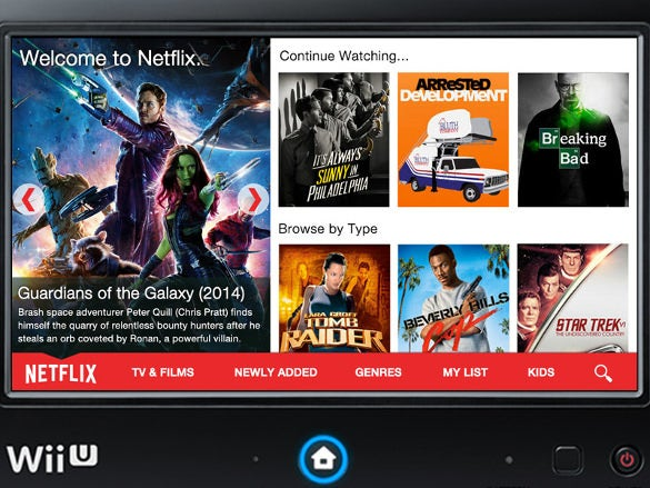 wii u netflix app design download